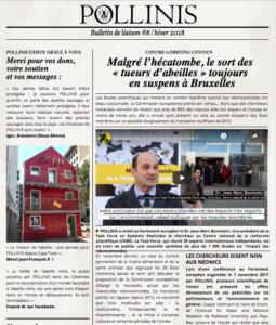 Bulletin de liaison #8 POLLINIS