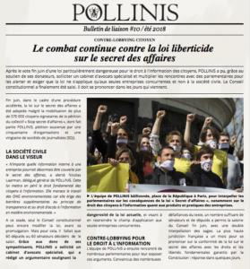 Bulletin #10 été 2018