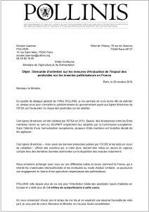 lettre ouverte Ministère AGRI - position FR EFSA GD
