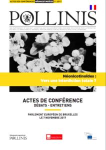 Néonics actes de conférence POLLINIS