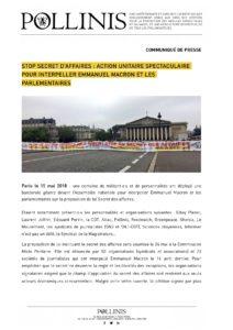 CP-Stop-secret-des-affaires-action-unitaire-spectaculaire-pour-interpeller-Emmanuel-Macron-et-les-parlementaires
