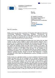 Courrier_Commission_européenne_pesticides_interdits