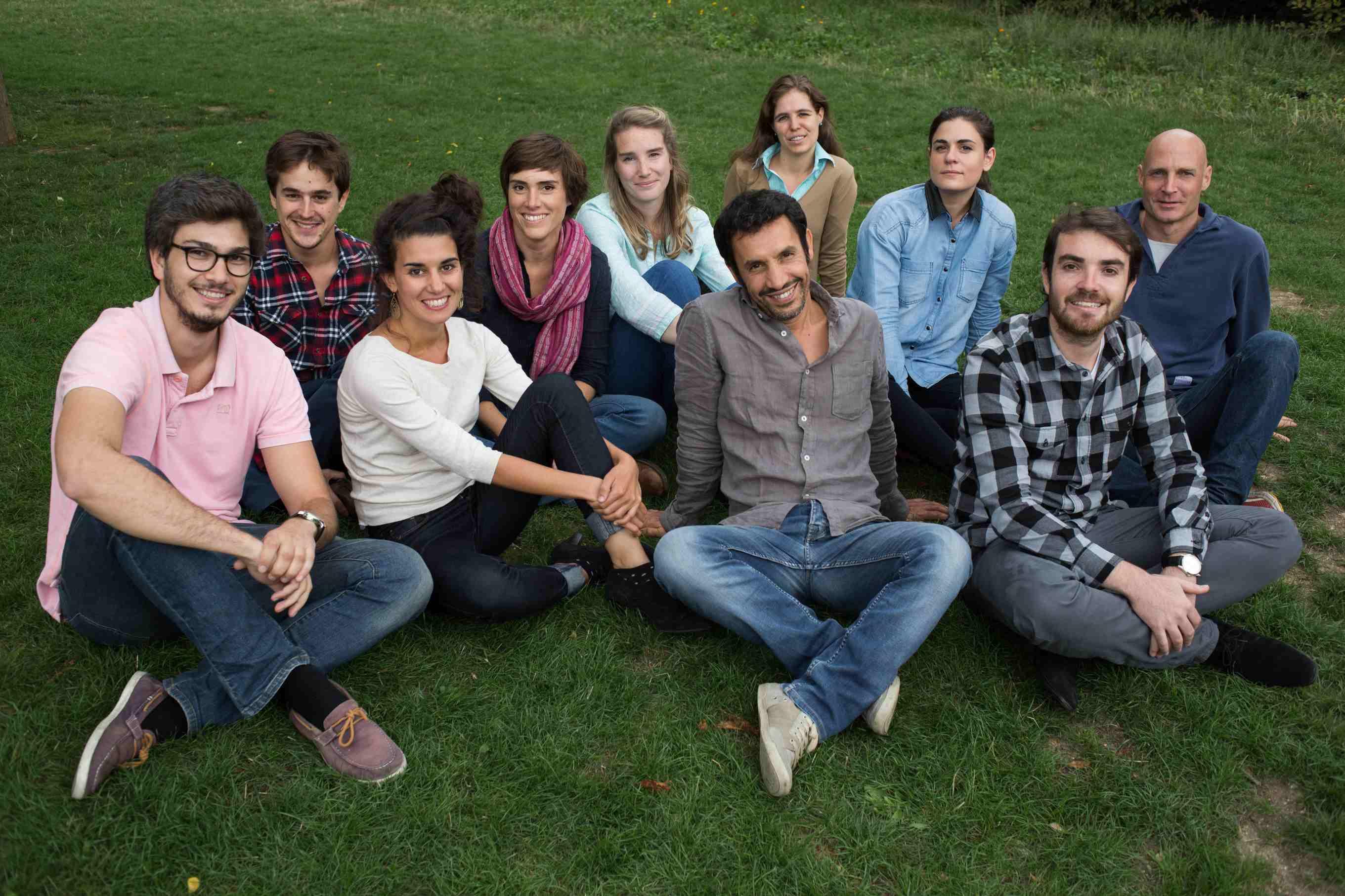 Pollinis' team, sept. 2015.